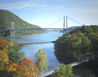 Click to enlarge photo of Bear Mountain Bridge