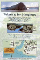 Click to enlarge sign about Fort Montgomery in the American Revolution