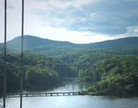 Click to enlarge photo of Popolopen Creek from the Bear Mountain Bridge