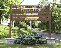 Entrance to Ward Pound Ridge